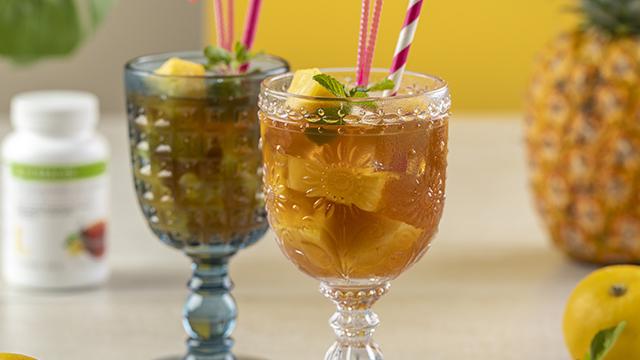 Bebida Cítrica con Piña